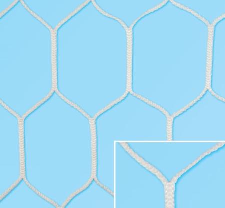 Plasa Fotbal  Top Hexagon 750x250 adancime: sus 100 cm jos 200 cm