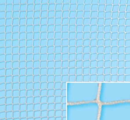Plasa protectie fara nod, fir 1.5 mm, ochi 20x20 mm ignifug