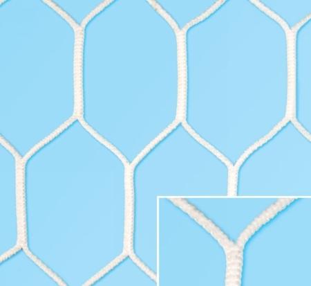Plasa Fotbal  Hexagon Champions League 750x250 adancime: sus 200 cm jos 200 cm